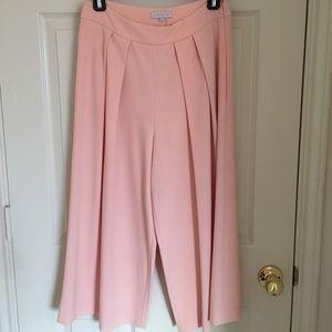 Wide leg pink pants